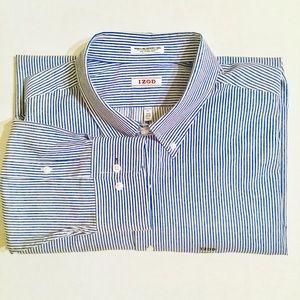 Izod |Wrinkle Free Quick Dry Twill Shirt 18.5